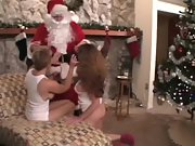 2 hot cougars get a bounty from santa