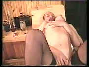 Alina in sauna lovin' 3some hump with her hubby and his friend